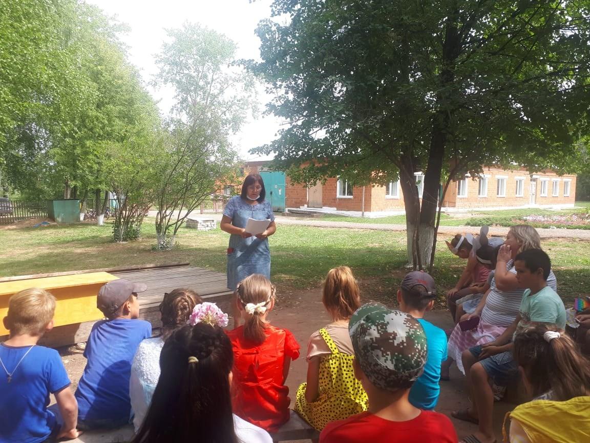 3⃣ День лагерной смены в Малосюгинской школе