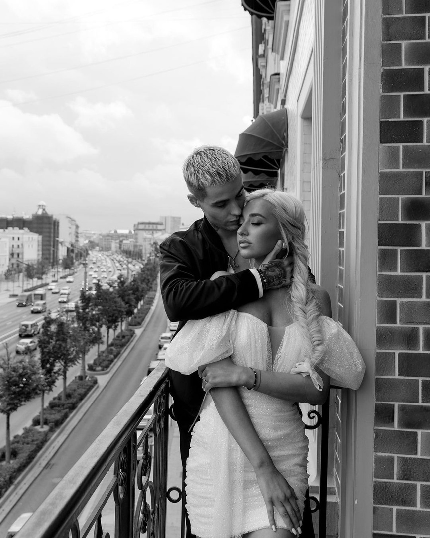 Максим и Анастасия Колесниковы в день свадьбы