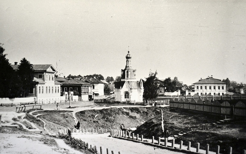Вид на Устюжскую часовню. 1910-е гг.