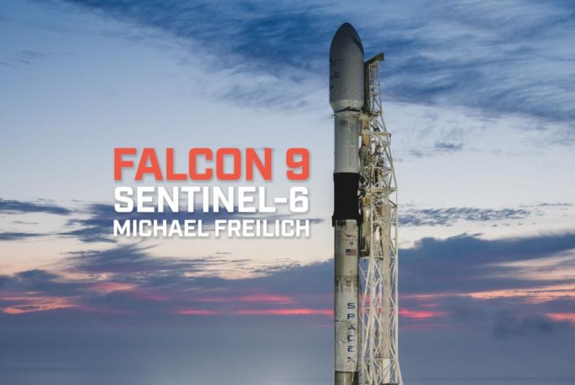 SENTINEL-6A | FALCON 9 BLOCK 5 | EVERYDAY ASTROUNAVT