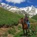 В горах Грузии