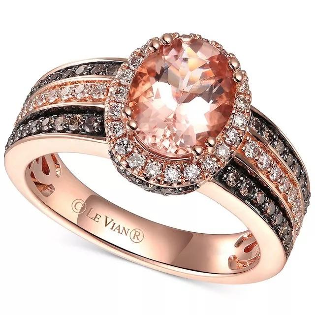 rbUJOLAchA8 - Шоколадные бриллианты в обручальных кольцах - звучит мечтательно