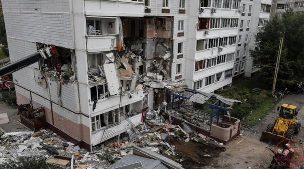 Установлена предварительная причина взрыва в доме в Ногин...