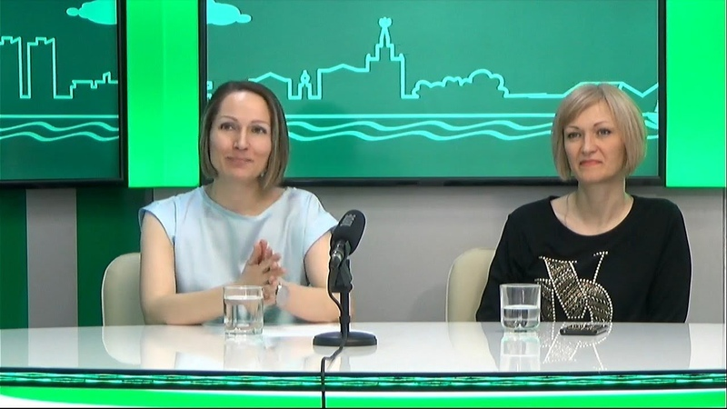 Гости на Радио 2 Ирина Шеломенцева и Юлия Лисицына предс ль ХКОО и мама ребенка с синдромом Дауна