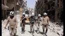Attacco chimico dei terroristi takfiri contro civili siriani!