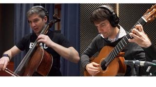 Ein Strauss aus der Frühlingszeit -  a bunch of flowers from springtime - for cello and guitar