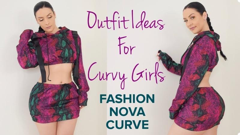 Outfit Ideas For Curvy Girls FASHION NOVA CURVE X VIKTORIA KAY