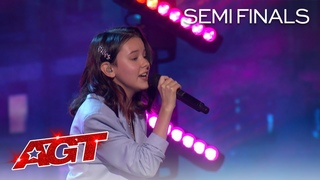 "Daneliya Tuleshova Sings an AMAZING Rendition of ""Who You Are"" - America's Got Talent 2020"