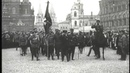 Проводы на фронт женского батальона смерти 1917
