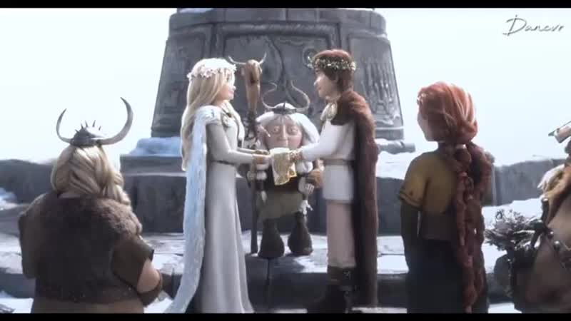 DreamWorks Dragons ⊱ vine ⊰ Astrid Hofferson x Hiccup Horrendous Haddock III