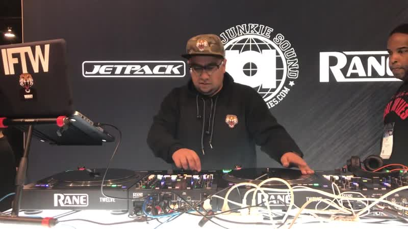 IFTW Live DJ Set at JetPack Beat Junkies Rane booth from NAMM 2019