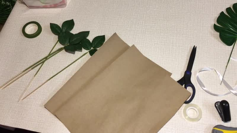 Букет из 7ми роз Букет из мыла