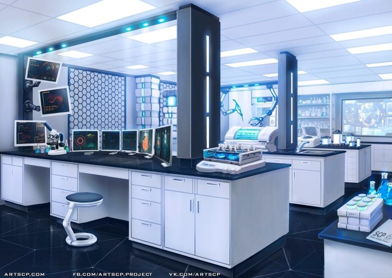 Учёные Фонда сами пытаются разрабатывать аномальные технологии, зачастую прибегая к тауматургии. Художник — Руслана Гора; иллюстрация создана в рамках арт-проектаARTSCP