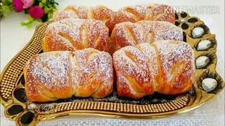 💖АРОМАТ СВЕДЕТ С УМА! Рецепт в Приданное для невесты! Самые Нежные  Булочки с ПЕРСИКАМИ!КАК ПУХ КЧАЮ