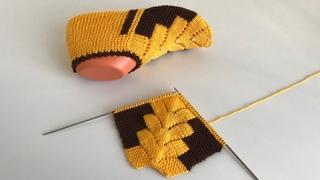 Çam modeli/ kolay patik /iki şiş patik/çeyizlik patik / knitting easy/knitting socks crochet/örgü