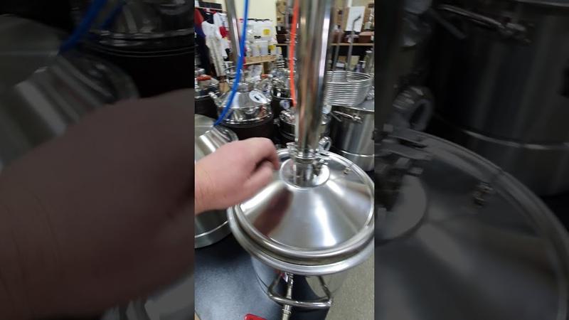 Дистиллятор колонна MAGARICH NEXT 2020 на перегонном кубе 27 литров под клапм ТЭН