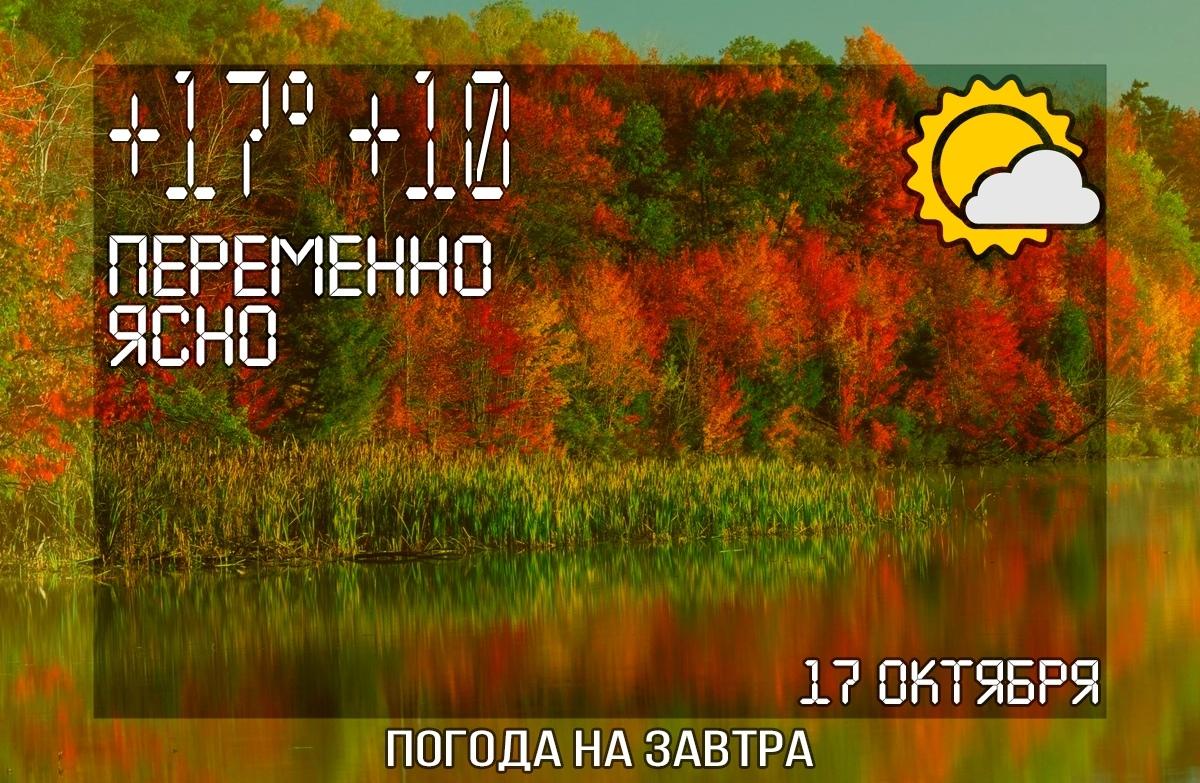 Завтра будет облачно ☁  До +15 днем