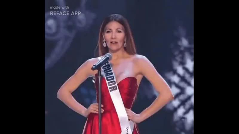 Людмила мисс Эквадор