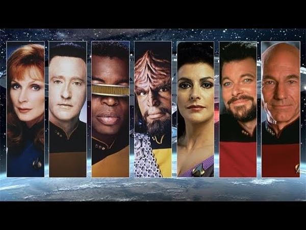 Star Trek Часть 2 Большой обзор сериала Звездный путь Следующее поколение