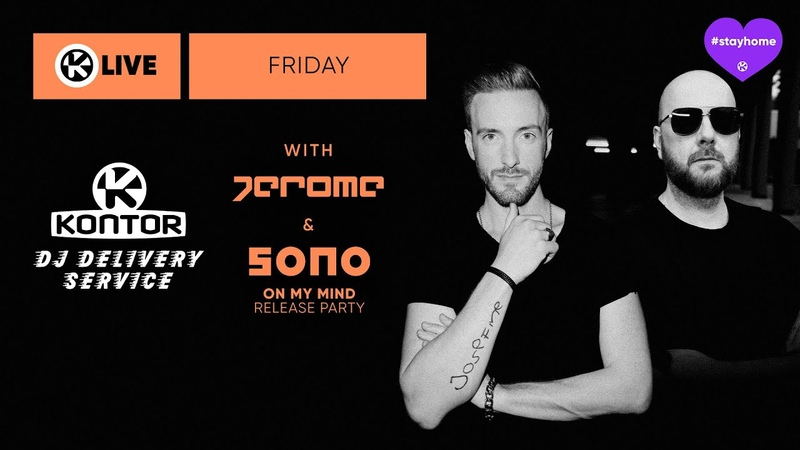 Jerome 🗨 IRL DJ Set 🎶 guest SONO Kontor DJ Delivery Service 💜