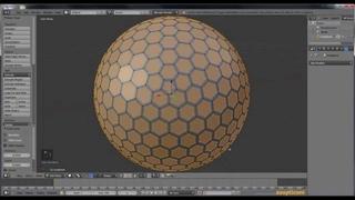 Blender 3D tutorial - Golf Ball - Μπαλάκι του Γκόλφ