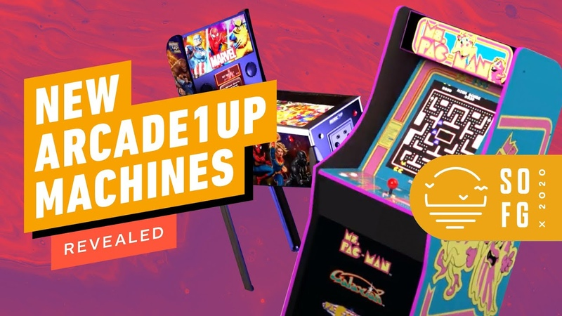 Arcade 1Up Reveals Ms. Pac-Man, X-men vs. Street Fighter, More New Cabinets | Summer of Gaming 2020