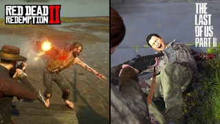 Red Dead Redemption 2 VS The Last Of Us 2 - Gore Comparison