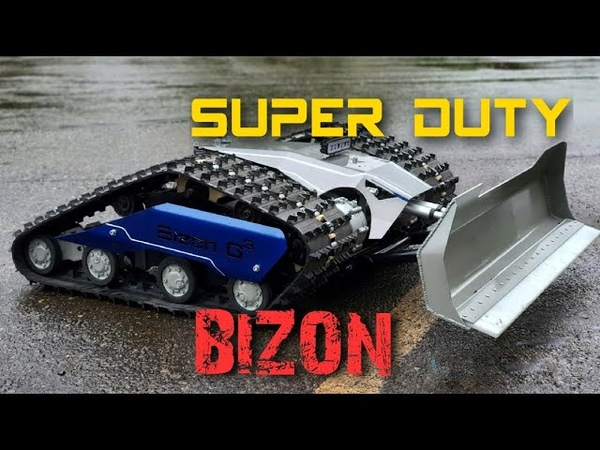 Гусеничный электро тягач Бизон