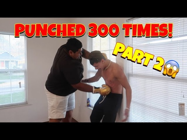 I GOT PUNCHED 300 TIMES IN THE STOMACH PART 2 😱