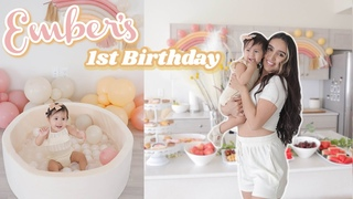 Ember's 1st Birthday Celebration 💕 Quarantine Baby Turns ONE ✨