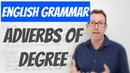 English lesson - Adverbs of degree: fairly, quite, rather - gramática inglesa