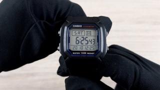 Casio W-800H-1A - Обзор и Настройка