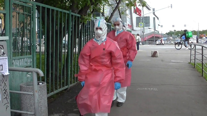 Зомби апокалипсис в Москве Хроники пандемии коронавируса COVID 19