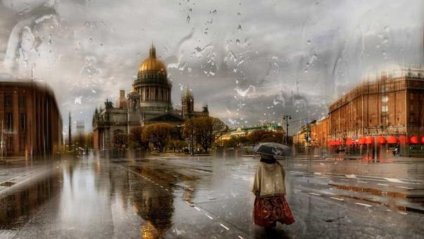 Эдуард Гордеев и его фотографии дождя