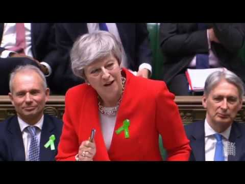 Prime Ministers Questions 15 May 2019 - inequality, food poverty, climate change