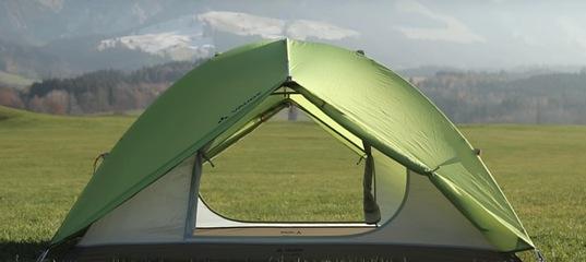 Новое поступление палаток немецкого бренда VAUDE!