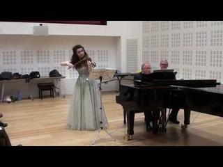Edward William Elgar - Anastasia Vedyakova (violin) and Barry Collett (piano) - 2nd act