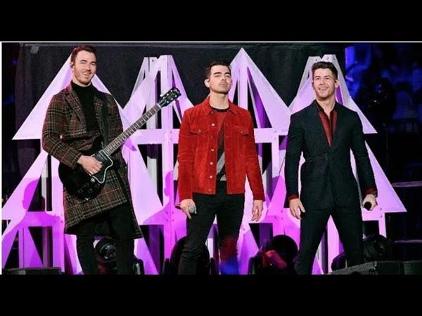 Jonas Brothers Live Performance at Z100JingleBall iHeartJingleBall 2019