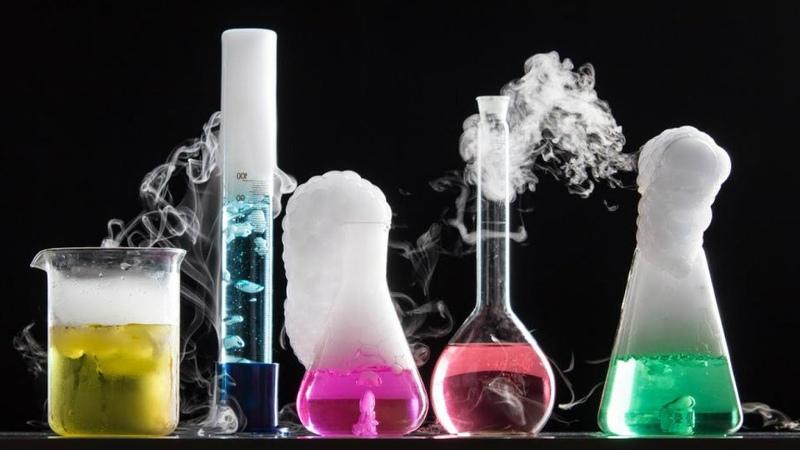 Experiment with liquid nitrogen