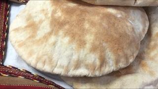 Самый быстрый и полезный  хлеб -Пита на закваске Левите Мадре.