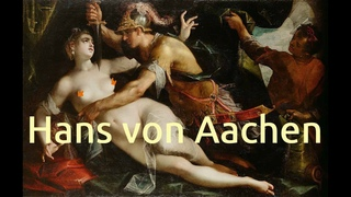 Hans von Aachen (1552-1615): Classical nude oil paintings