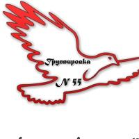 Логотип Группировка №55 (Позитивный Омск)