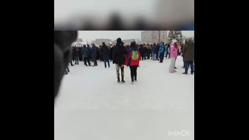 Митинг Череповец