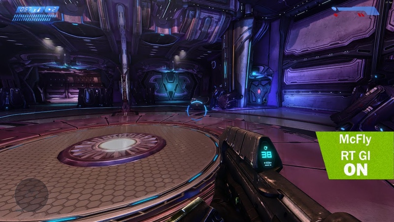 4K Halo Combat Evolved MCC Raytracing GI Ultra graphic comparison Gameplay