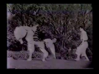 "Учебный фильм ""Динамика техники каратэ-до Шотокан. Мастера каратэ Шотокан"" ч. 3. (1954 г.)"