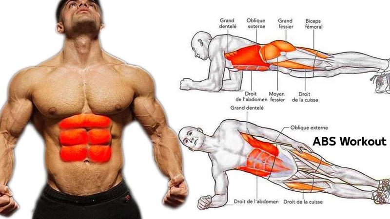 أقوى تمارين البطن وحصول على بطن مشدودة V Cut Abs