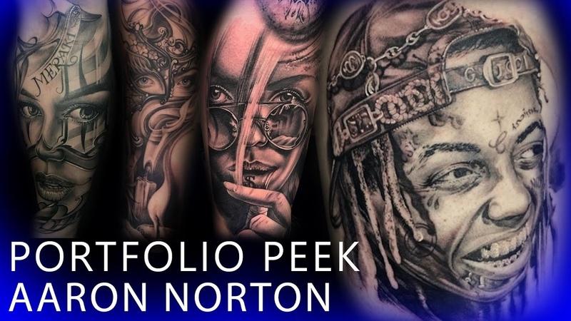 Portfolio Peek Aaron Norton