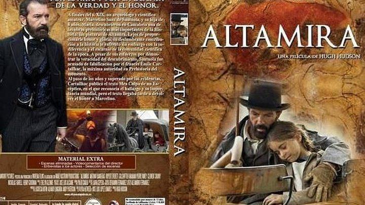 Альтамира Altamira 2016 HD Драма Исторический Антонио Бандерас