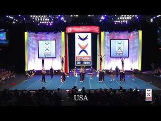 TEAM USA- JUNIOR COED ELITE - ICU 2018, 1st place
