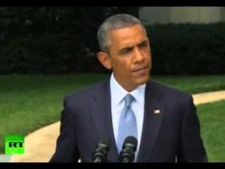 Заявление Барака Обамы по ситуации на Украине. Трансляция из Белого дома.